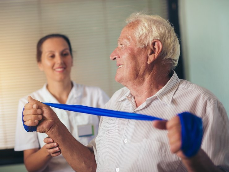 Occupational Therapy Helps Patients with the Tasks of Daily Living