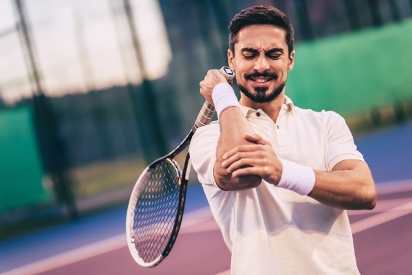 "Get Relief from the Discomfort of ""Tennis Elbow"""