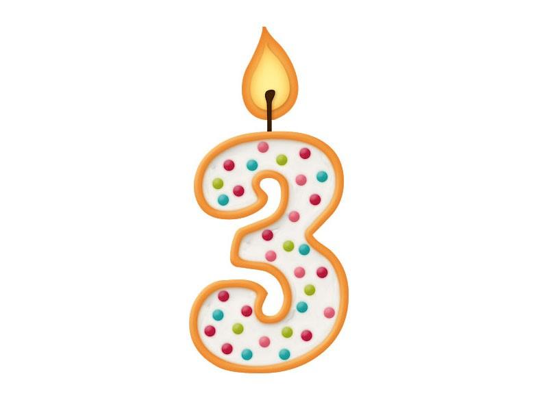 Celebrating Three Years